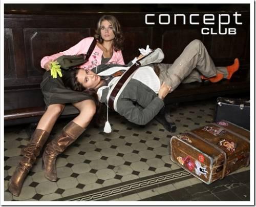 Одежда от бренда «Concept club»
